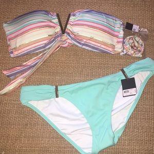 Victoria's Secret Swim - New VICTORIAS SECRET bikini bandeau swim suit